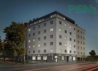 Byt 2+kk do OV, 64,4 m2, ul. U Plynárny, Praha 10 - Michle