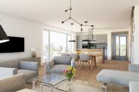 Luxusní mezonetový byt 5kk, 280m2 s vlastní zahradou 115 m2, Praha 4-Krč