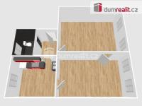 Prodej slunného bytu o dispozici 2+1, 65 m 2 s parkovací stání ve dvoře, Praha 1 Malá Strana