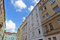 Nový mezonetový byt 1+kk/B/PS, 150 m2, OV, Vršovice, ul. Orelská