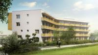 Nový byt 3+kk s terasou, Bytový dům Tetínská