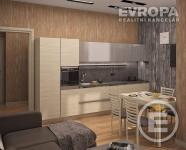 Prodej bytu 1+kk / 32,3 m2 / L/Sklep Praha - Uhřiněves