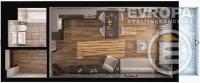 Prodej bytu 1+kk, v osobním vlastnictví, o velikosti 39,3 m2+terasa 7,3 m2, ve výstavbě