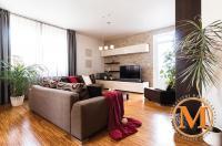 Prodej bytu 3+kk/T, 108,56 m2, OV, novostavba, výhled, garážové stání, Praha 4 - Kamýk