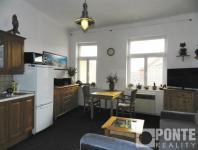 Prodej bytu 1+kk, 24 m2, Praha 8 - Libeň, ul. Pod Čertovou skalou, DV, 4. NP, cihla