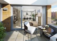 Krásný byt 4+kk 97 m2 s terasou 20 m2 v projektu Zelená Libuš, Praha 4