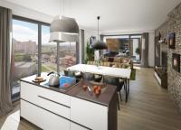 Krásný byt 3+kk 68 m2 s terasou 9 m2 v projektu Zelená Libuš, Praha 4