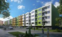 Element Letňany, byt 1+kk, 49,45 m2, lodžie 2,88 m2 - stavba zahájena