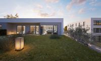 Novostavba 4+kk, 116 m2, terasa, zahrada, přímo u lesa, Komořany