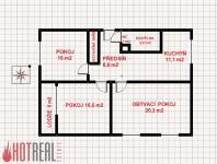 Prodej prostorného bytu 3+1 82 m2 OV