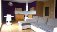 Prodej zařízeného bytu 1+kk/T/G v novostavbě, 53 m2, ul. Hodkovická, Praha 4, Kamýk