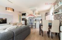 Byt 3+KK/T o výměře 83,48 m2 ve 4. patře v novostavbě cihlového domu