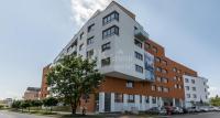 Praha 4, Bráník , Na Výspě OV 1+kk 28,2 m2+balkon 3,7m2. Orientace východ.